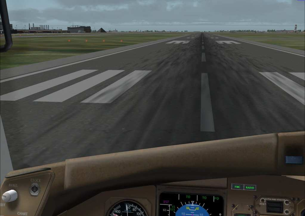 Express 074 cleared Takeoff